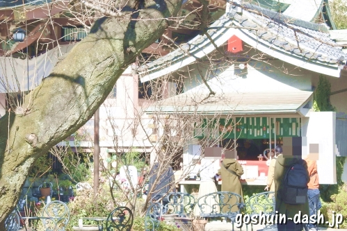 今戸神社(東京都台東区)授与所(社務所・御朱印受付場所)