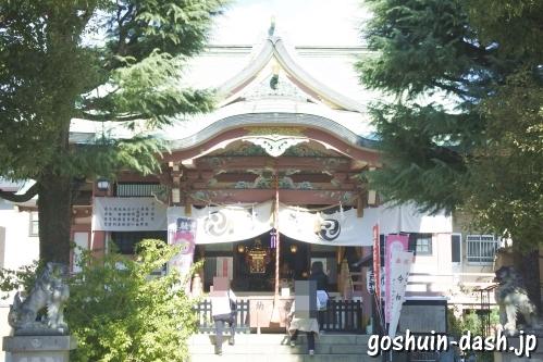 今戸神社(東京都台東区)拝殿
