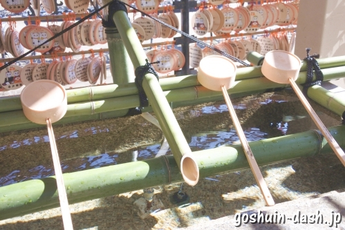 今戸神社(東京都台東区)手水舎