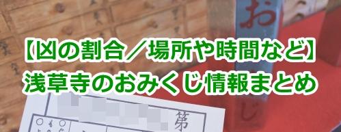 金龍山浅草寺(東京都台東区)のおみくじ