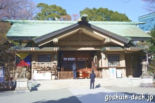 東郷神社(東京都渋谷区)社殿