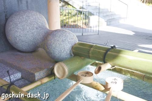 東郷神社(東京都渋谷区)手水舎