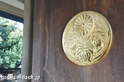 東郷神社(東京都渋谷区)神門扉