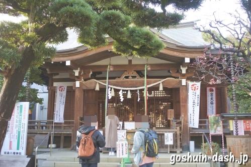 鳩森八幡神社(東京都渋谷区)社殿