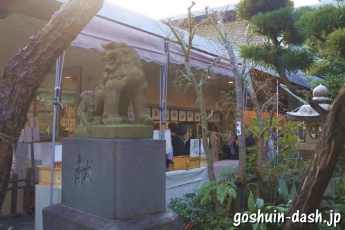 鳩森八幡神社(東京都渋谷区)授与所(御朱印受付場所)