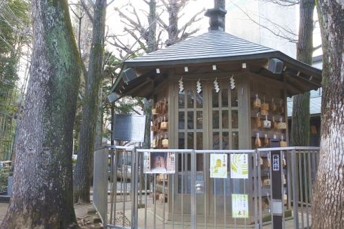 鳩森八幡神社(東京都渋谷区)将棋堂