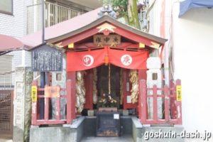 庚申塚(鳩森八幡神社)