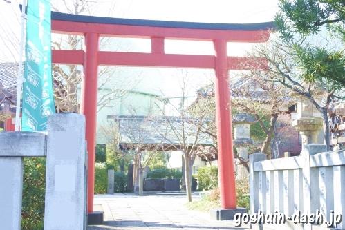 石浜神社(東京都荒川区)東鳥居