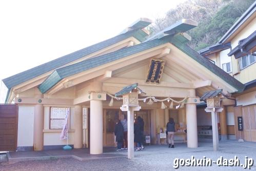 二見興玉神社(三重県伊勢市)拝殿