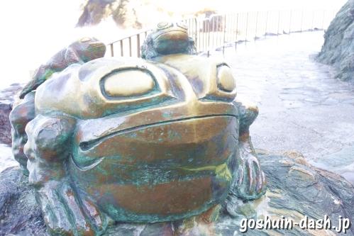二見蛙(二見興玉神社)