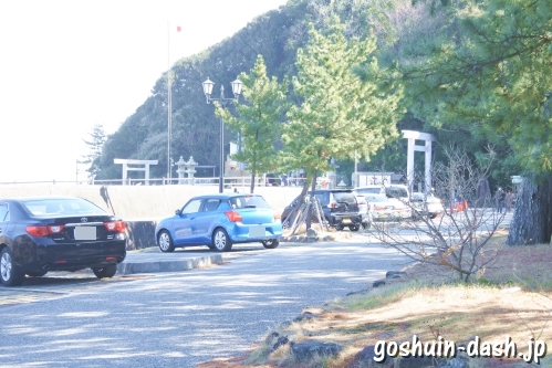 二見興玉神社(三重県伊勢市)無料駐車場