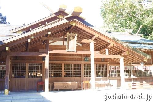 猿田彦神社(三重県伊勢市)社殿