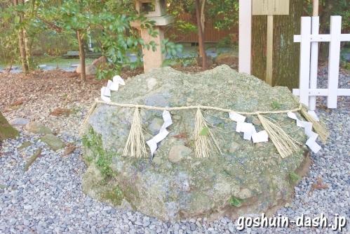 さざれ石(伊勢猿田彦神社)