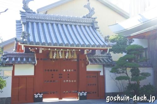 赤門(伊勢猿田彦神社)