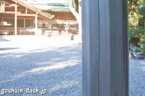 猿田彦神社(三重県伊勢市)鳥居(八角形)
