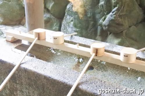 月読宮(三重県伊勢市・伊勢神宮内宮別宮)手水舎