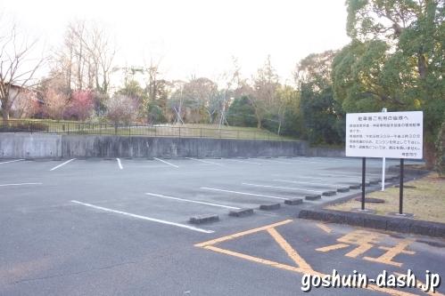 神宮美術館裏駐車場(三重県伊勢市・倭姫宮)