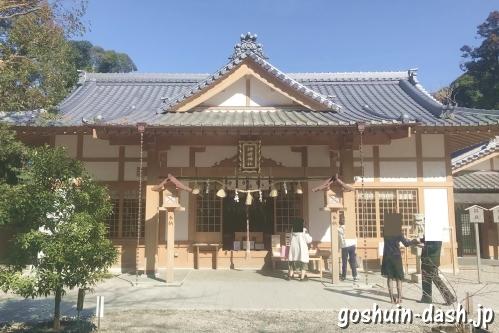 神明神社(三重県鳥羽市相差町)社殿