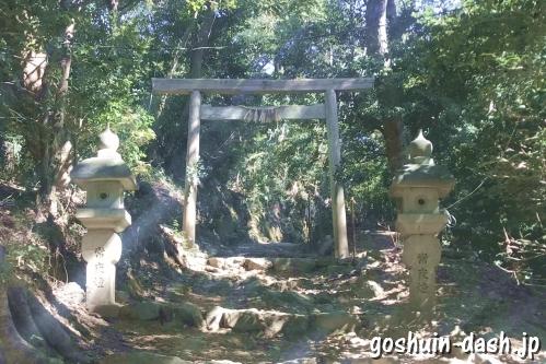 伊射波神社(三重県鳥羽市)二の鳥居