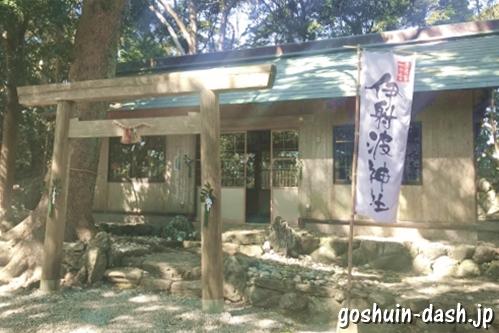 伊射波神社(三重県鳥羽市)社殿