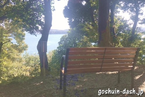 加布良古崎・奇跡の窓(伊射波神社)