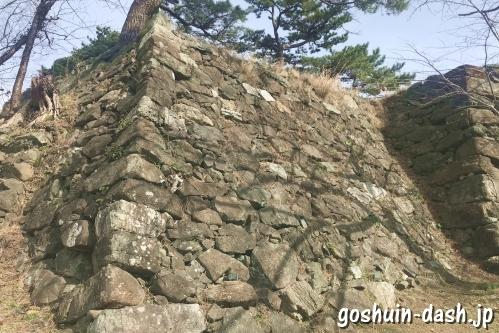 鳥羽城跡(三重県鳥羽市)本丸石垣