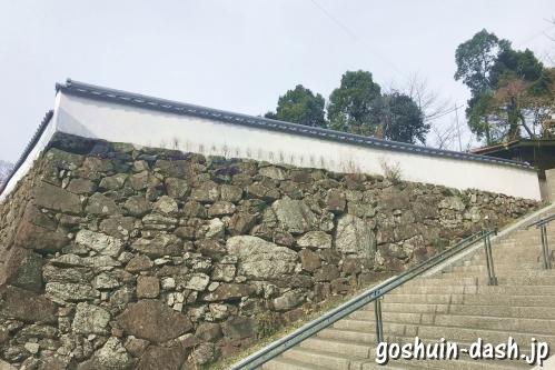 家老屋敷跡(鳥羽城跡)