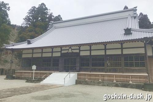 開山堂(朝熊岳金剛證寺)