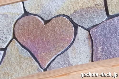 伊勢神宮「ハートの石」(おはらい町地下道出入口)