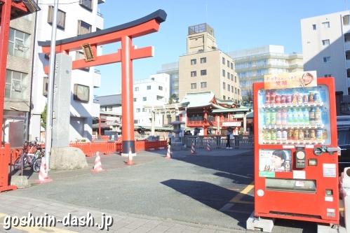 鷲神社(東京都台東区)横の自動販売機
