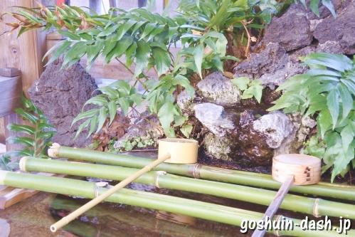 矢先稲荷神社(東京都台東区)手水舎