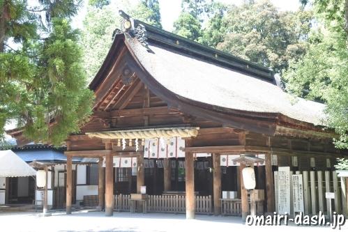 大縣神社(愛知県犬山市)拝殿