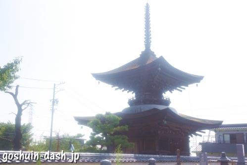 大樹寺(愛知県岡崎市)多宝塔(国重要文化財)