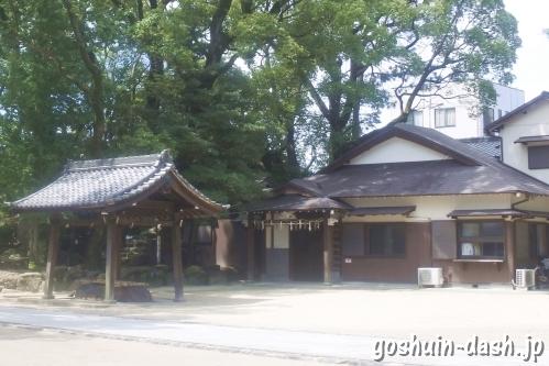築地神社(名古屋市港区)授与所(社務所・御朱印受付場所)