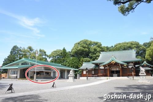 川原神社(愛知県名古屋市昭和区)の御朱印受付場所(社務所)