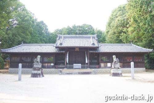 糟目春日神社(愛知県豊田市)社殿
