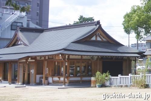 渋川神社(愛知県尾張旭市)社務所(授与所・御朱印拝受場所)