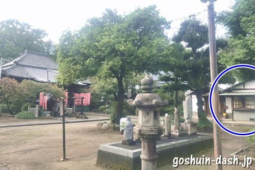 長久寺(名古屋市東区)納経所(御朱印受付場所)
