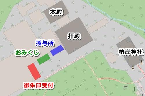 椿大神社(三重県鈴鹿市)御朱印マップ
