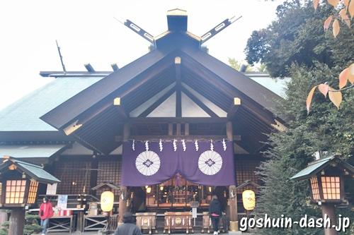 東京大神宮(東京都千代田区)拝殿