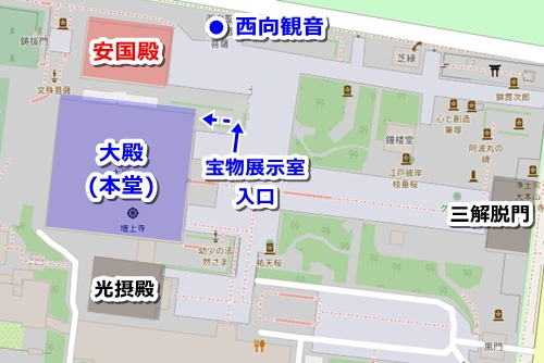 増上寺(東京都港区)御朱印マップ