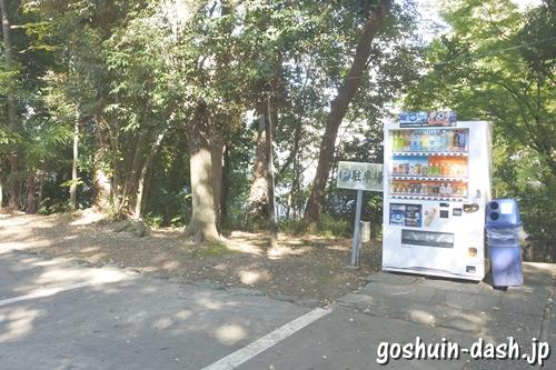 赤坂氷川神社(東京都港区)境内の自動販売機