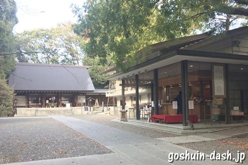 乃木神社(東京都港区)授与所(御朱印受付場所)