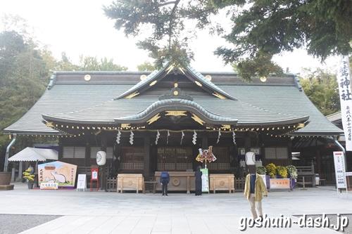 大國魂神社(東京都府中市)拝殿