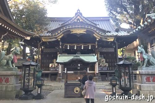 豊川稲荷東京別院(東京都港区元赤坂)本殿