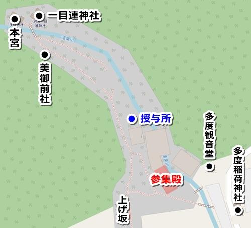 多度大社(三重県桑名市)御朱印マップ