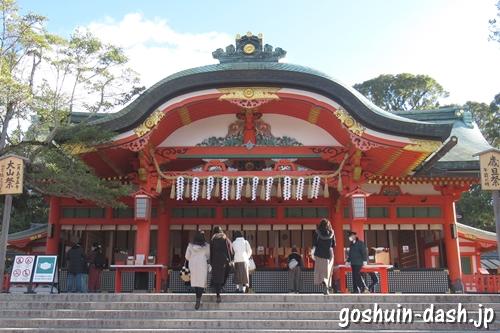 伏見稲荷大社(京都市伏見区)本殿