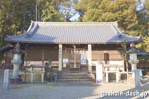 村国神社(岐阜県各務原市)拝殿