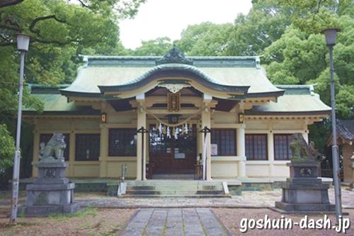 鳴海八幡宮(名古屋市緑区)拝殿