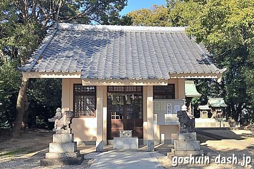 和爾良神社(名古屋市名東区)拝殿